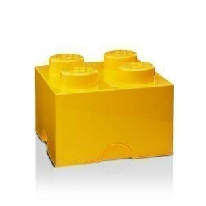 Room Copenhagen Lego Säilytyslaatikko 4 Keltainen