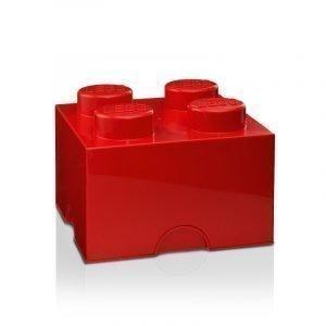 Room Copenhagen Lego Säilytyslaatikko 4 Punainen