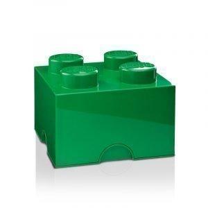 Room Copenhagen Lego Säilytyslaatikko 4 Tummanvihreä