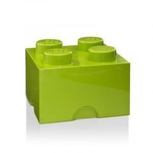 Room Copenhagen Lego Säilytyslaatikko 4 Vaaleanvihreä
