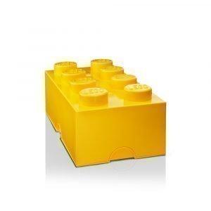 Room Copenhagen Lego Säilytyslaatikko 8 Keltainen