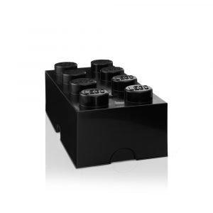Room Copenhagen Lego Säilytyslaatikko 8 Musta