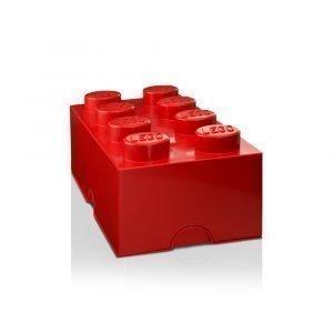 Room Copenhagen Lego Säilytyslaatikko 8 Punainen