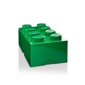 Room Copenhagen Lego Säilytyslaatikko 8 Tummanvihreä