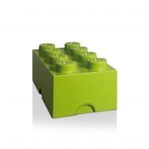 Room Copenhagen Lego Säilytyslaatikko 8 Vaaleanvihreä