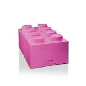 Room Copenhagen Lego Säilytyslaatikko 8 Vaaleanvioletti