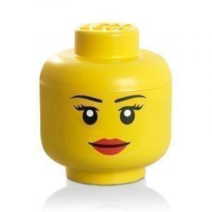Room Copenhagen Lego Säilytyspää Lego Iso Keltainen