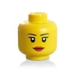 Room Copenhagen Lego Säilytyspää Lego Pieni Keltainen