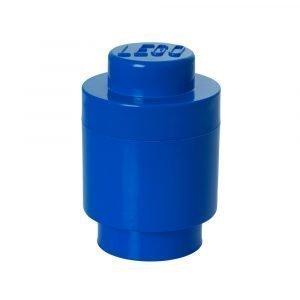 Room Copenhagen Pyöreä Lego Säilytyslaatikko 1 Sininen