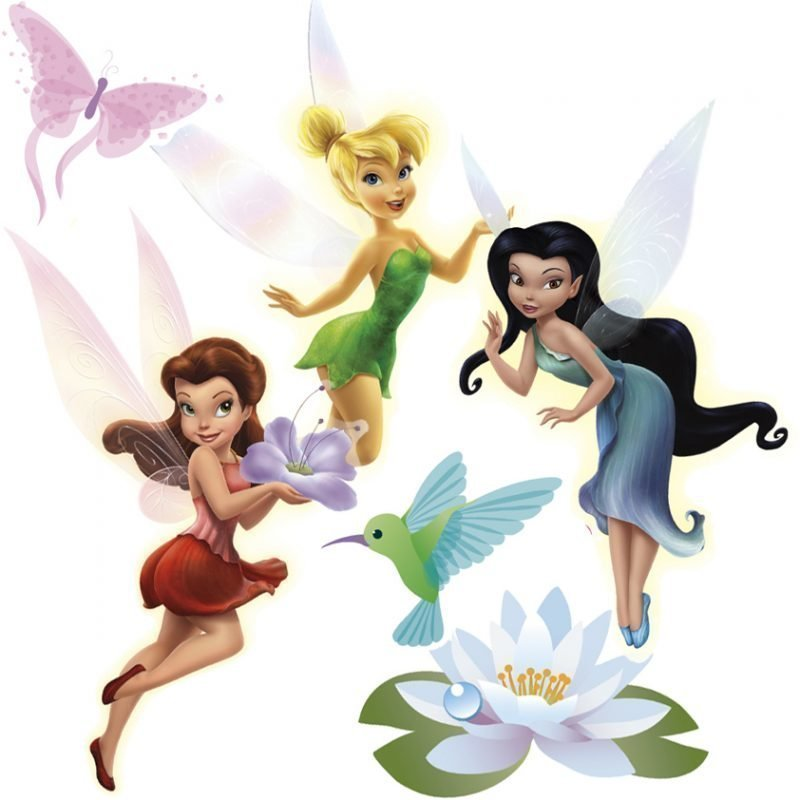 RoomMates Seinäsiirtokuva Disney Fairies