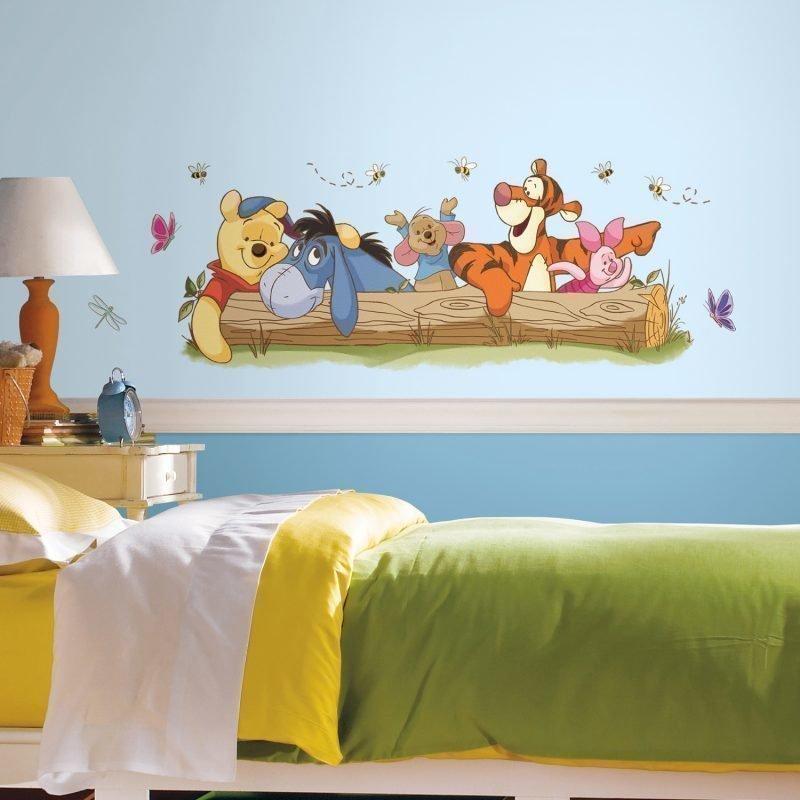 RoomMates Seinäsiirtokuva Disney Nalle Puh