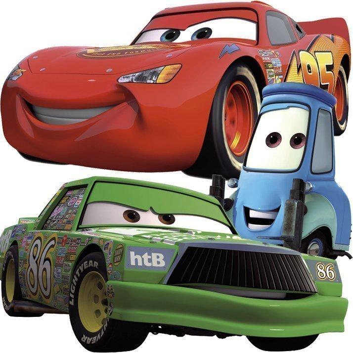 RoomMates Seinäsiirtokuva Disney Pixar Cars