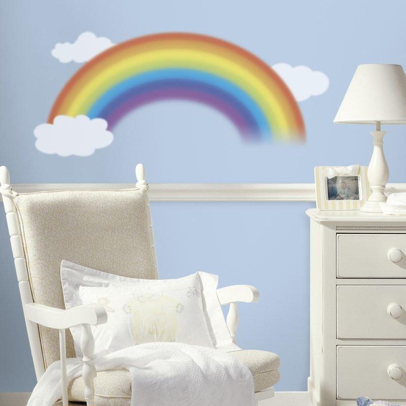 RoomMates Seinäsiirtokuva Sateenkaari
