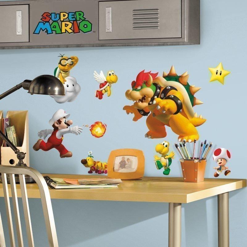 RoomMates Seinäsiirtokuva Super Mario