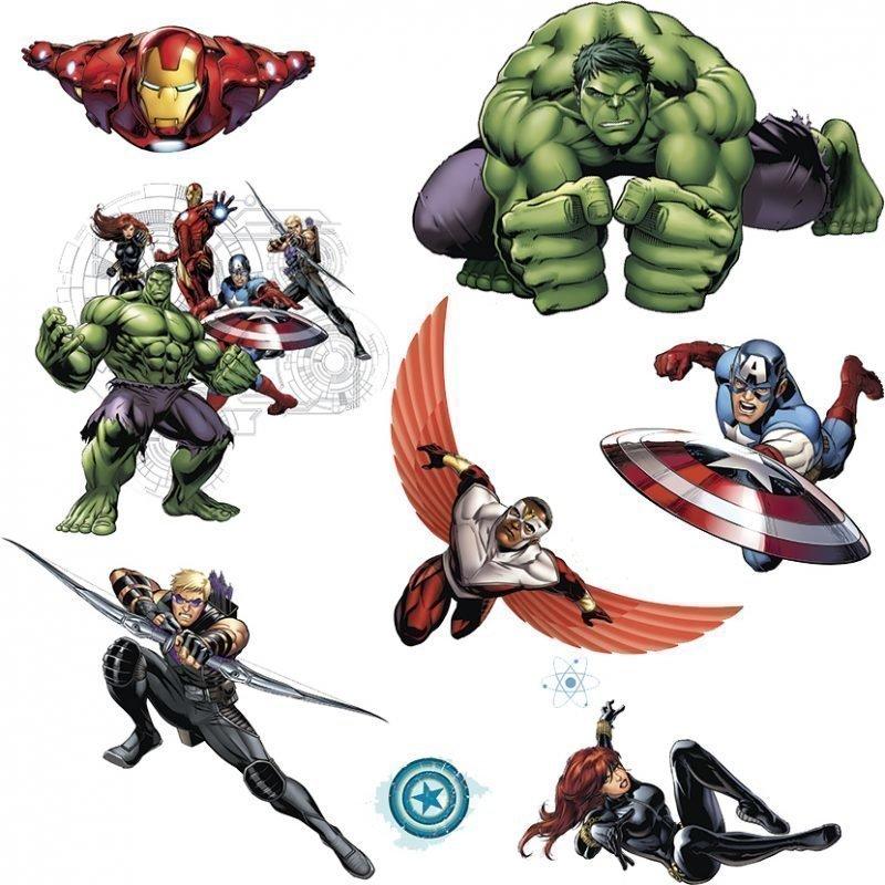 RoomMates Seinäsiirtokuva The Avengers