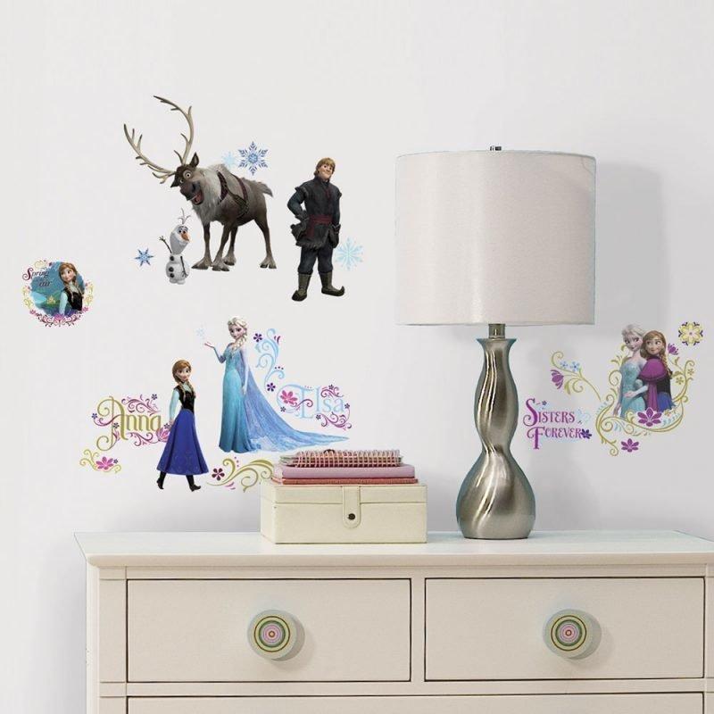 RoomMates Seinätarra Disney Frozen