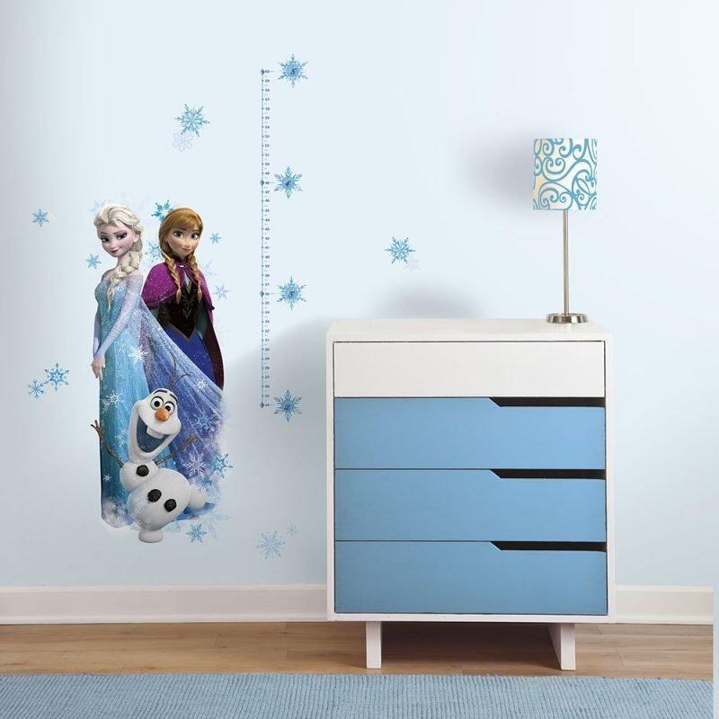 RoomMates Seinätarra Mittatikku Frozen