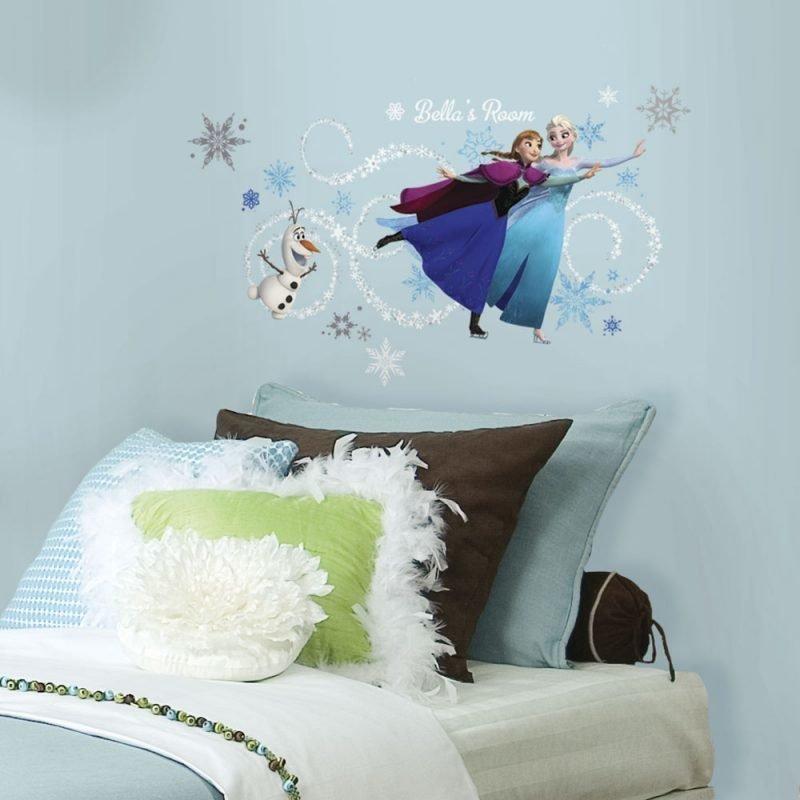 Roommates Seinätarra Disney Frozen Aakkoset
