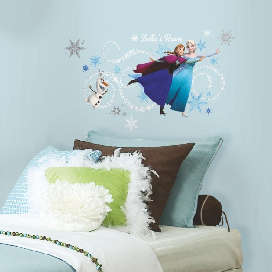 Roommates Seinätarra Disney Frozen Anna Elsa Ja Olaf