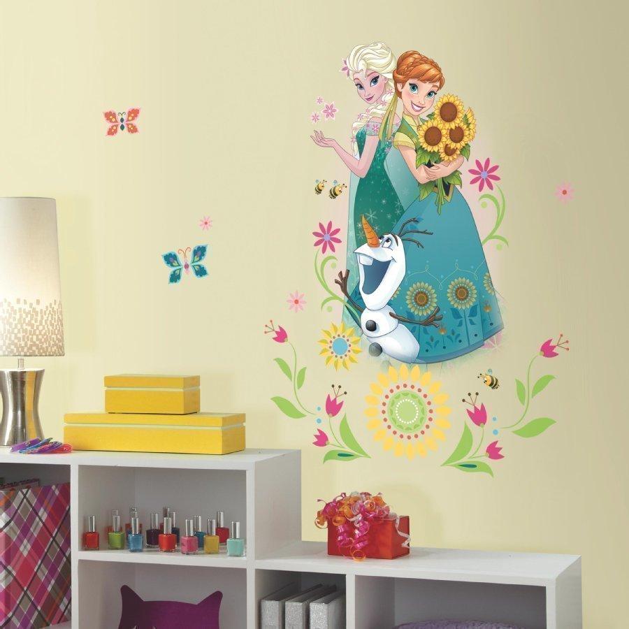 Roommates Seinätarra Disney Frozen Anna Ja Elsa