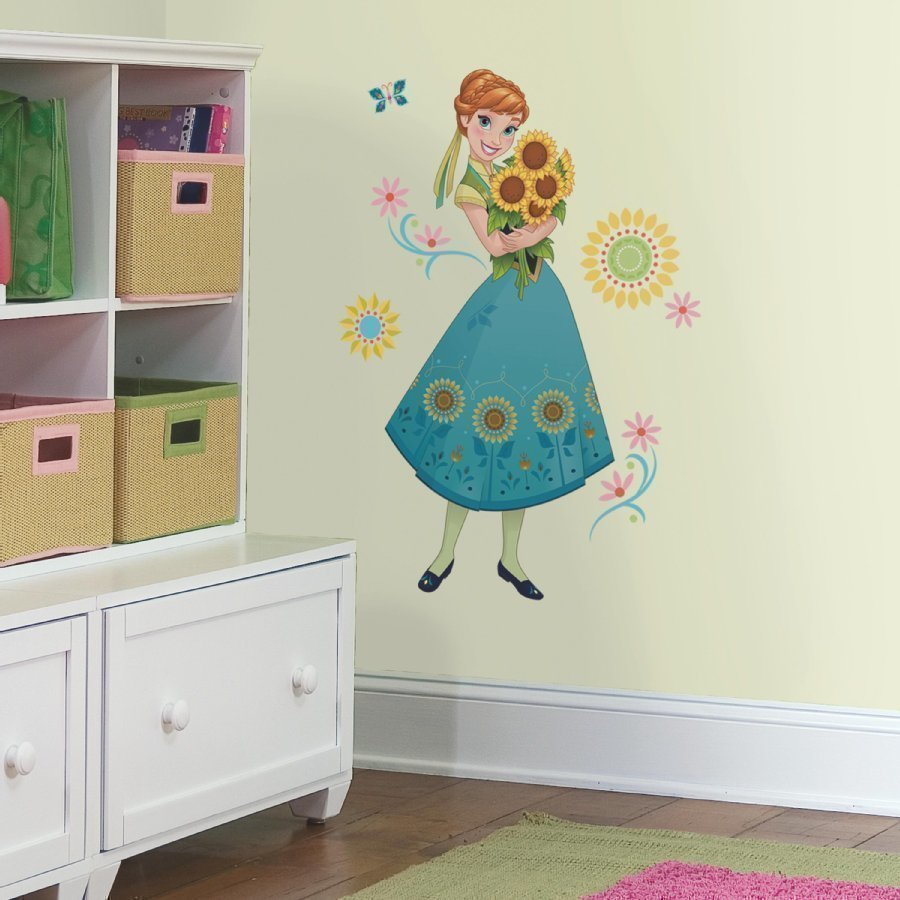 Roommates Seinätarra Disney Frozen Anna