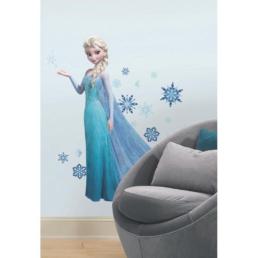 Roommates Seinätarra Disney Frozen Elsa Kimaltava