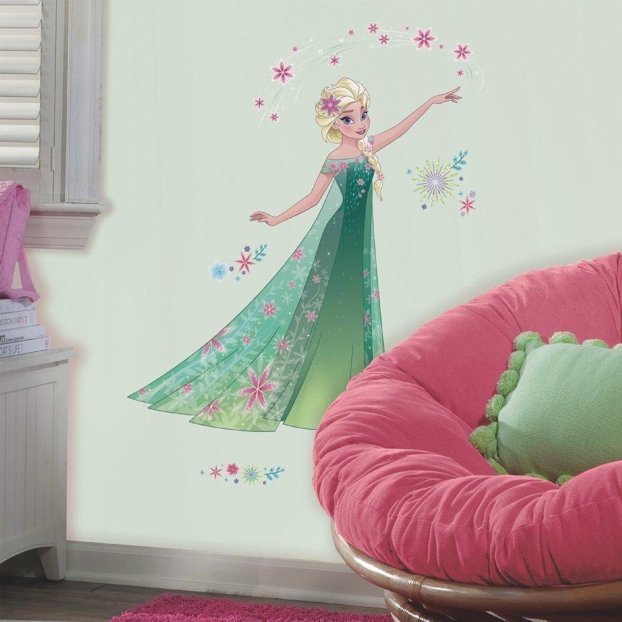 Roommates Seinätarra Disney Frozen Elsa