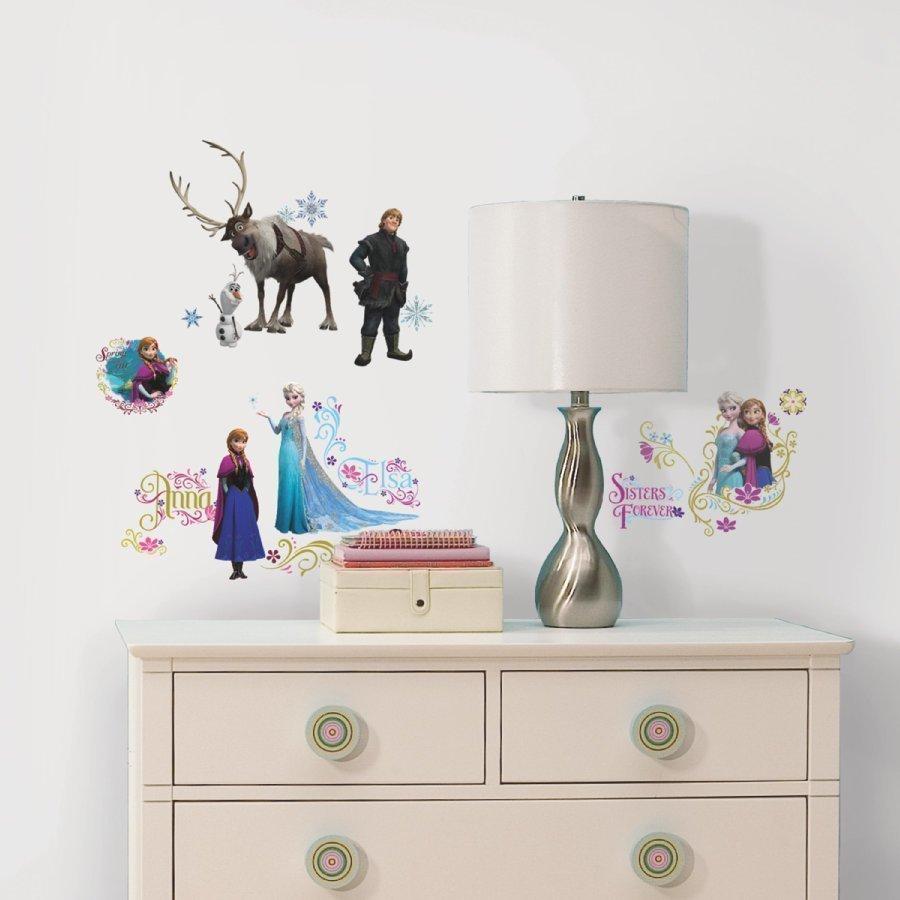 Roommates Seinätarra Disney Frozen Frozen Kimaltava