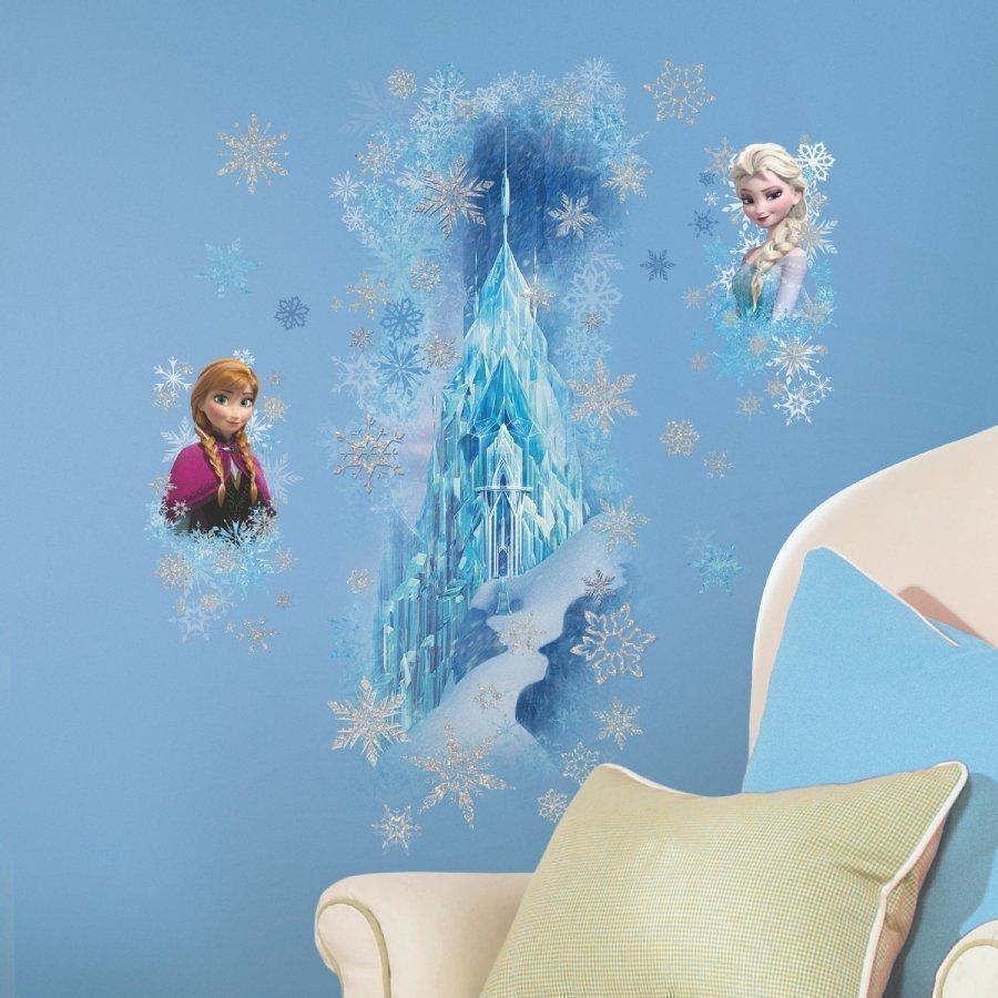 Roommates Seinätarra Disney Frozen Jääpalatsi Kimaltava