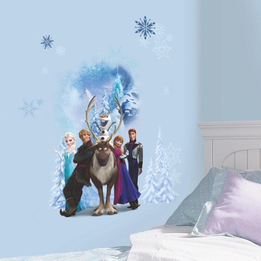 Roommates Seinätarra Disney Frozen Talven Sankarit