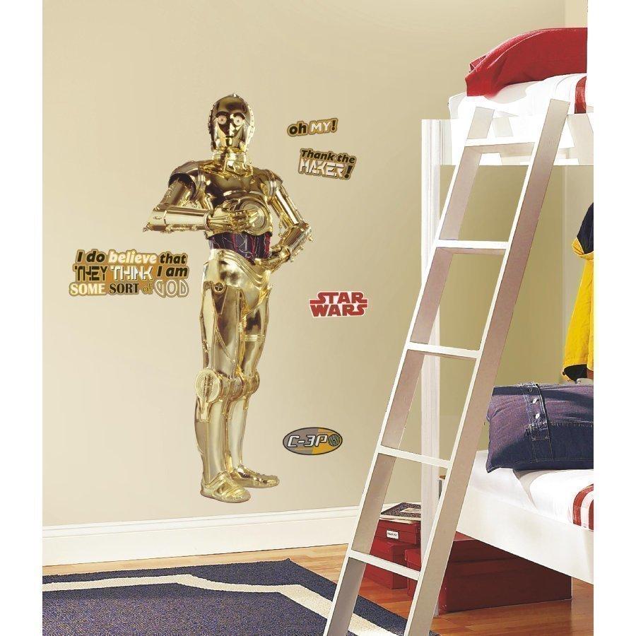 Roommates Seinätarra Star Wars C3po