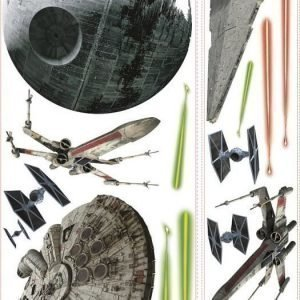 Roommates Seinätarra Star Wars Classic Ships Giant