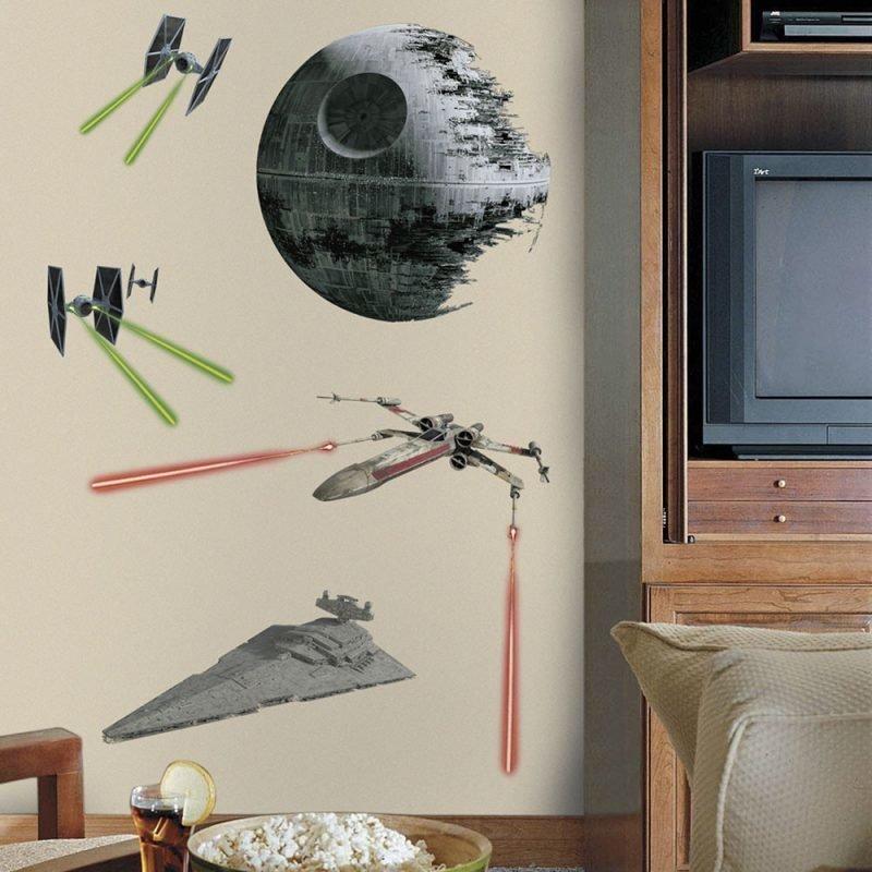 Roommates Seinätarra Star Wars Classic Ships