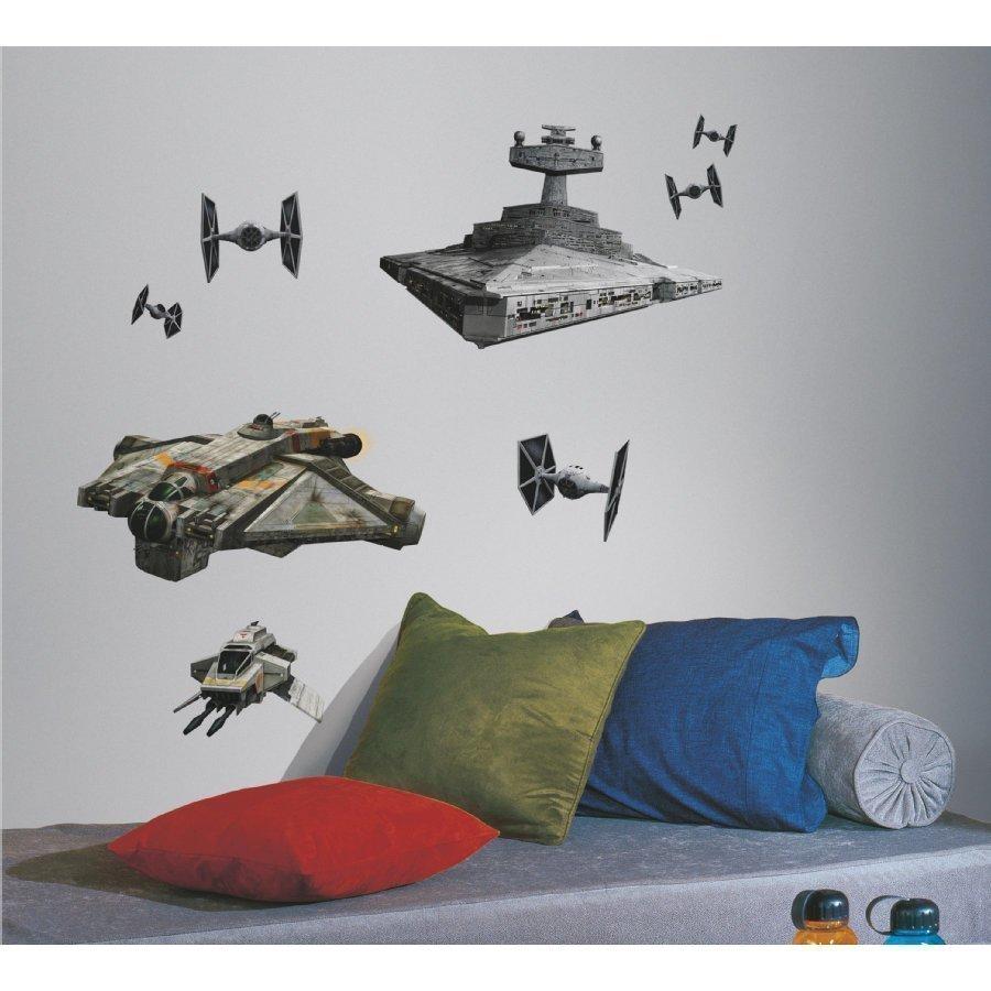Roommates Seinätarra Star Wars Tähtihävittäjä