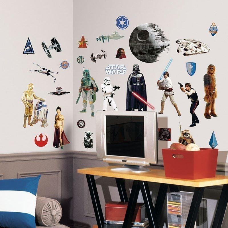 Roommates Seinätarra Star Wars