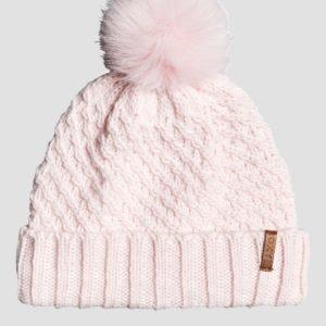 Roxy Blizzard Beanie Hattu Vaaleanpunainen