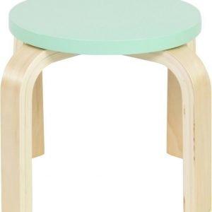 SG Furniture Jakkara 2 kpl Mintunvihreä/Koivu