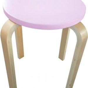 SG Furniture Jakkara Junior Vaaleanpunainen/Koivu