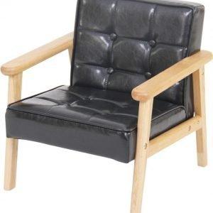SG Furniture Nojatuoli Musta