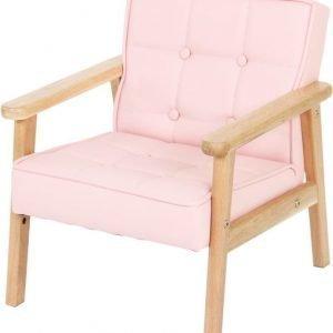 SG Furniture Nojatuoli Vaaleanpunainen