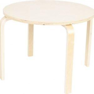 SG Furniture Pöytä Pyöreä Koivu