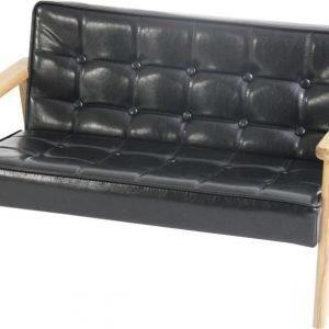 SG Furniture Sohva Musta