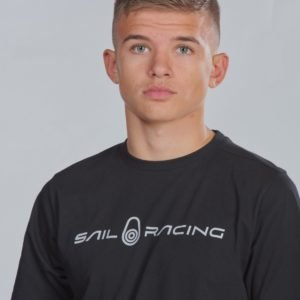 Sail Racing Jr Bowman Tee T-Paita Musta