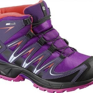 Salomon Xa Pro 3d Mid Cswp Kids Nilkkurit Purple