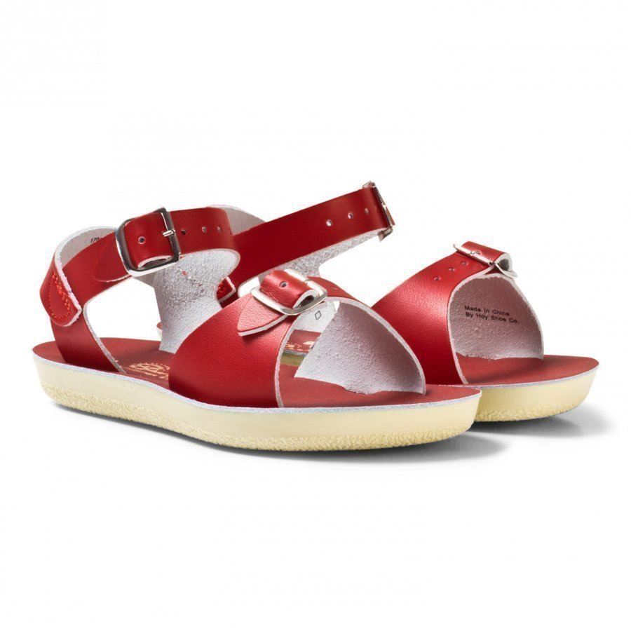 Salt-Water Sandals Surfer Sandals Red Remmisandaalit