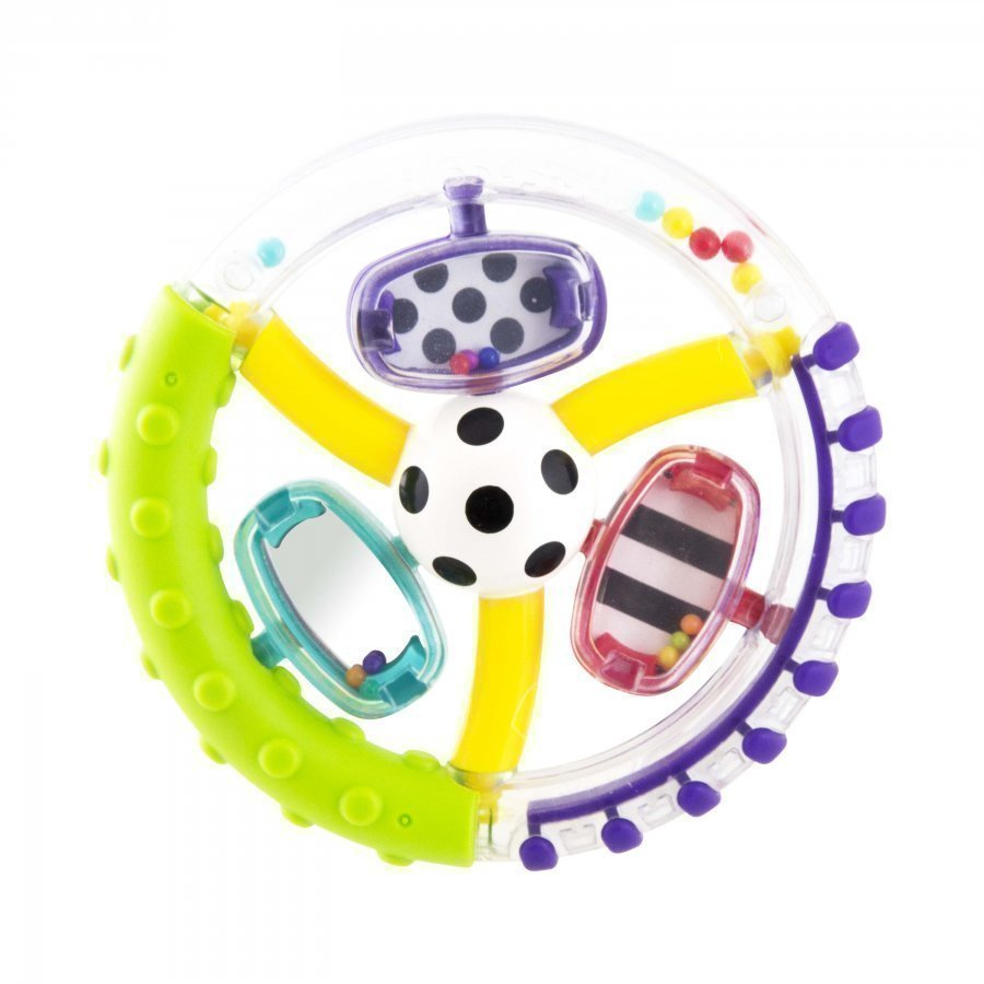 Sassy Wonder Wheel Ring Rattle Aktiviteettilelu