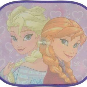 Satex Aurinkosuoja imukupeilla 2 kpl Anna & Elsa