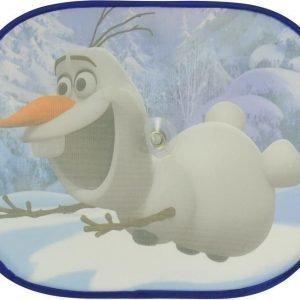 Satex Aurinkosuoja imukupeilla 2 kpl Frozen Olaf