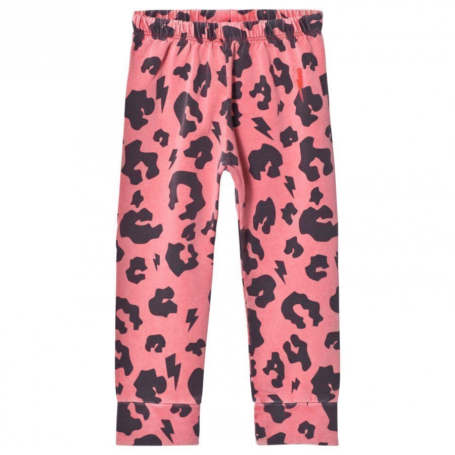 Scamp & Dude Chill Out Leggings Coral Leopard Legginsit