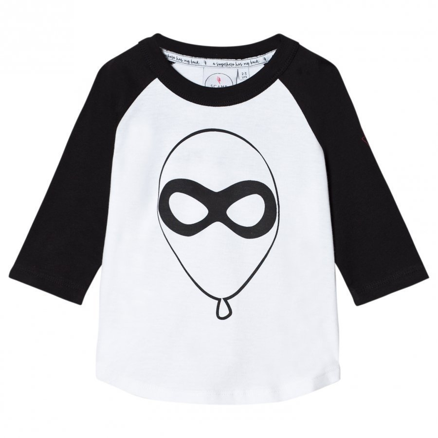 Scamp & Dude Super Charged Raglan Balloon Man Pitkähihainen T-Paita